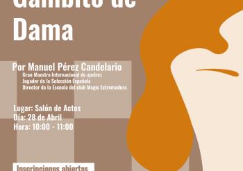 Charla Ajedrez y Gambito de Dama