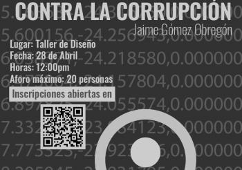 Charla Activismo informático contra la corrupción